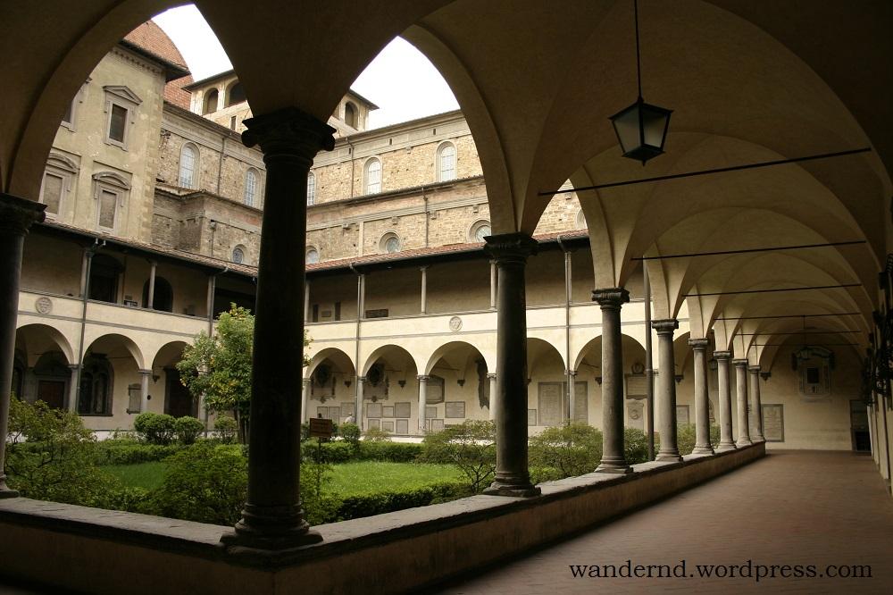 was sehen in Florenz? chiostro san lorenzo