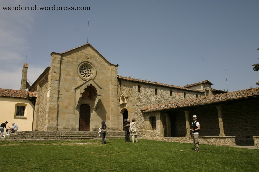 Das Franziskanerkloster in Fiesole - ein Kraftort?