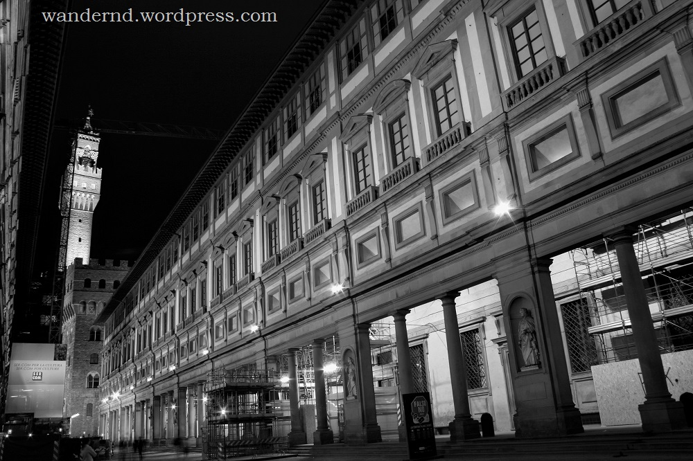 Was sehen in Florenz? Die Uffizien!