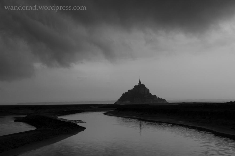 Fotografieren bei schlechtem Wetter: Mont St. Michel
