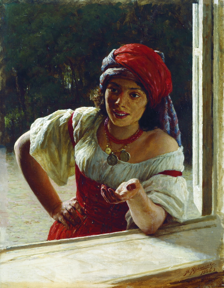 Gypsy_Woman by Nikolai Yaroshenko