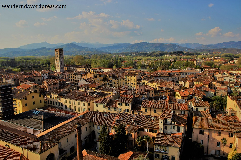 Ausflüge in die Umgebung Florenz: Lucca