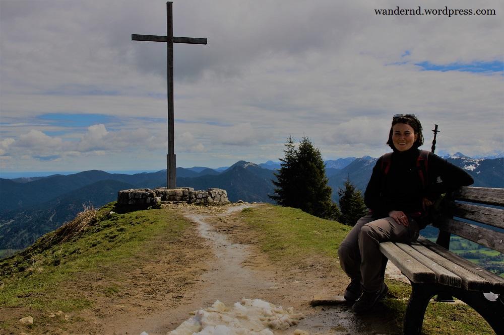 Brauneck - Am Gipfel klein