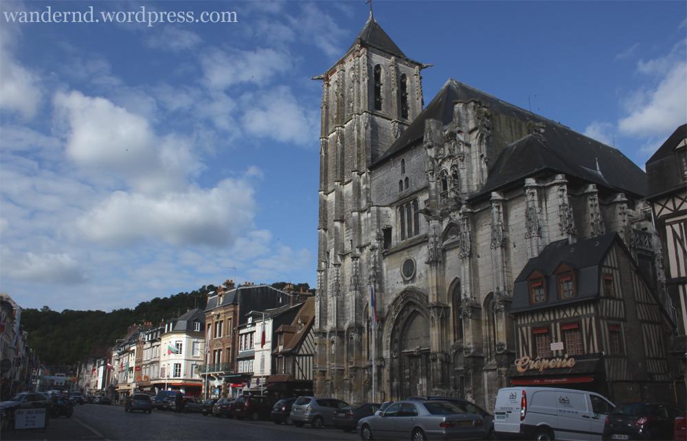Pont-Audemer Kirche