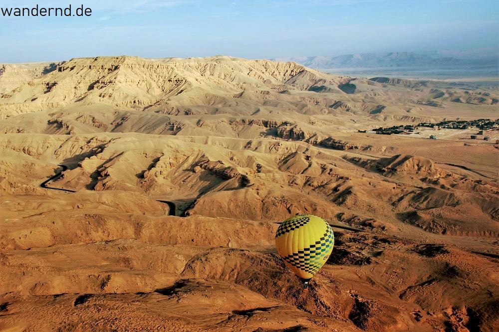 Ballonfahren am Nil - der perfekte Start ins neue Jahr