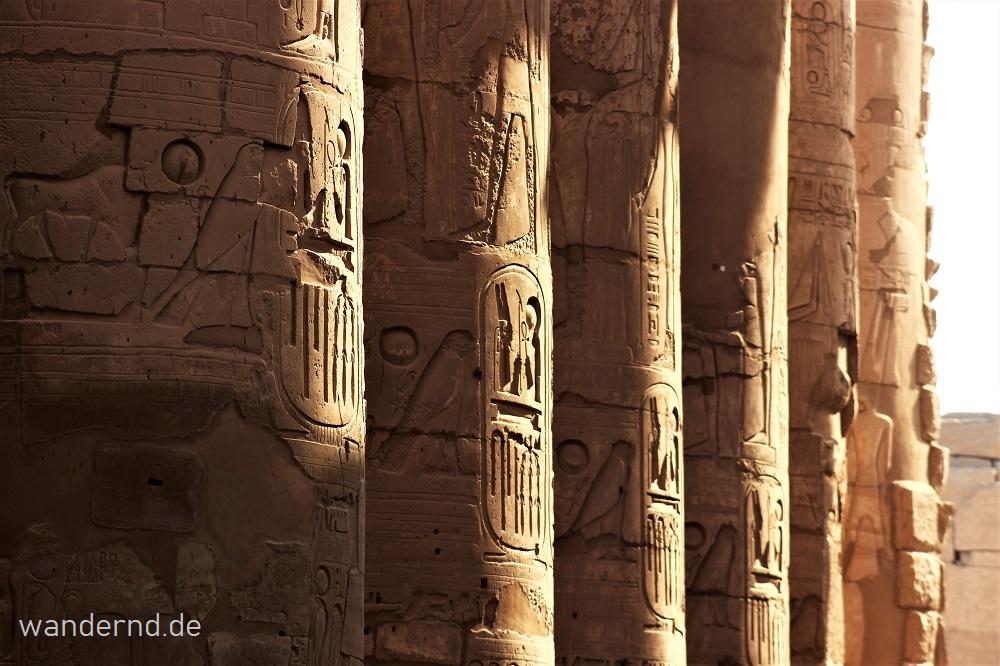 Die Tempel am Nil: Karnak und Luxor Tempel