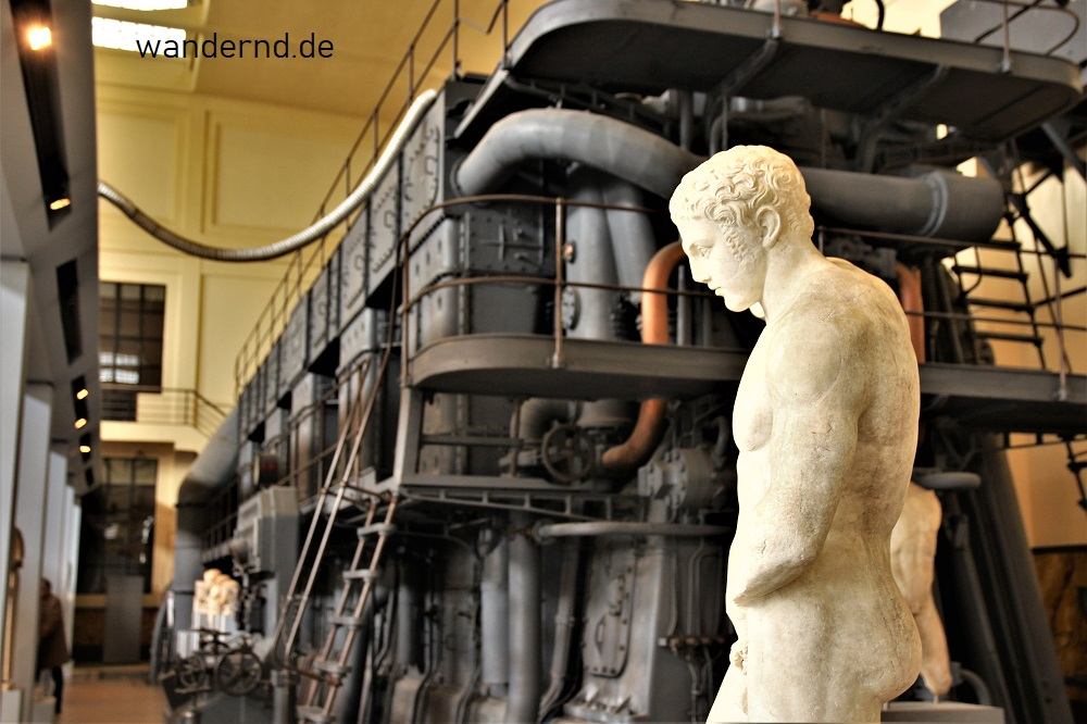 Museen Rom Tipps: Centrale Montemartini