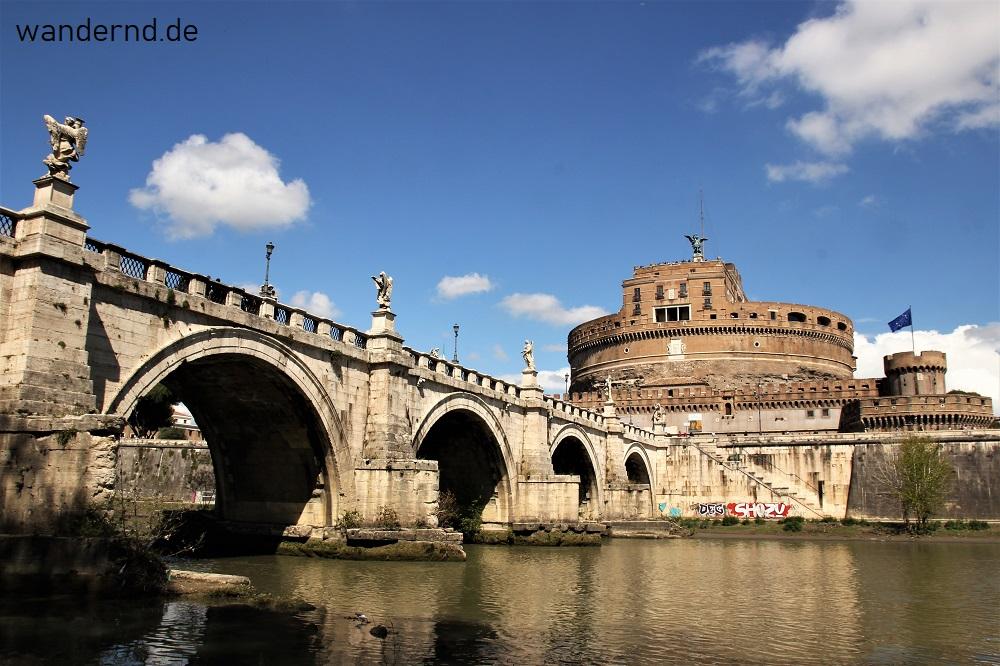 Sehenswürdigkeiten Rom: Engelsburg und Engelsbrücke