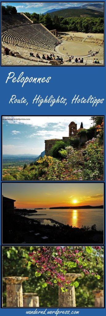 Rundreise Peloponnes: Sehenswürdigkeiten und Hoteltipps