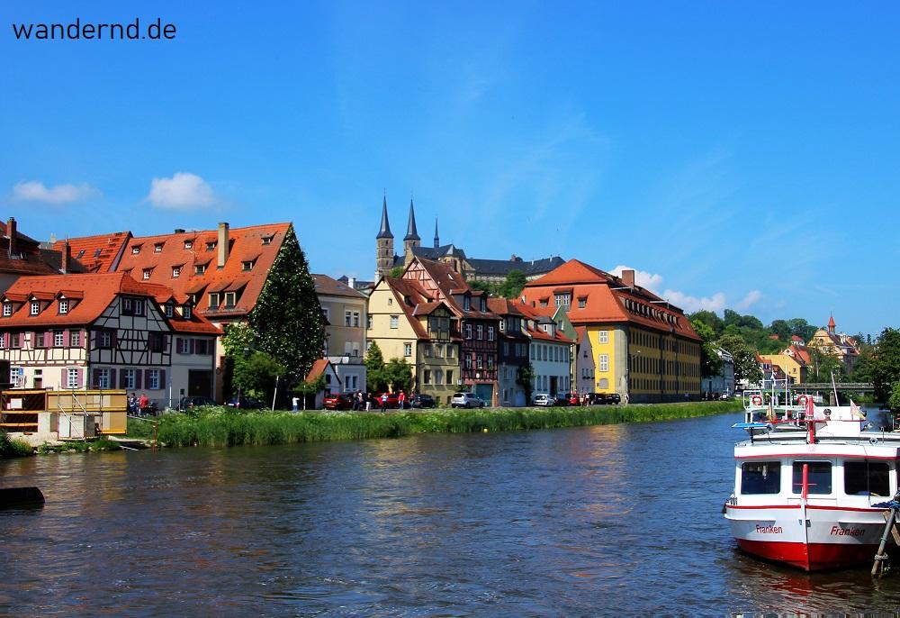 Bamberg Tipps: Achtet auf die Fahrradwege, wie hier am Kranen
