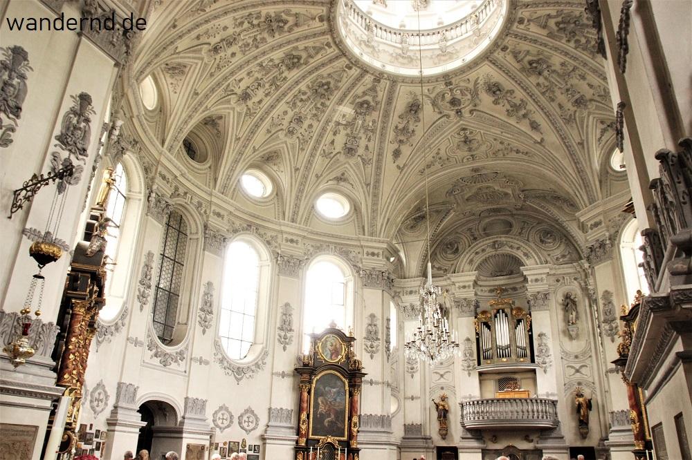 Wallfahrtskirche Maria Birnbaum Innenansicht