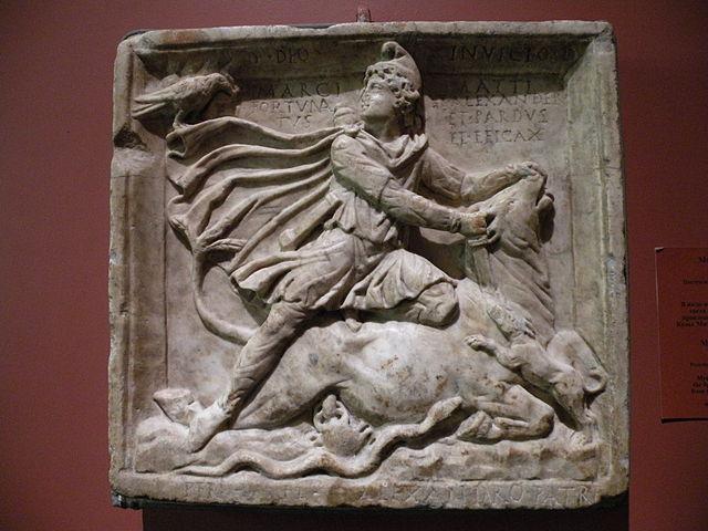 Mithras tötet den Stier