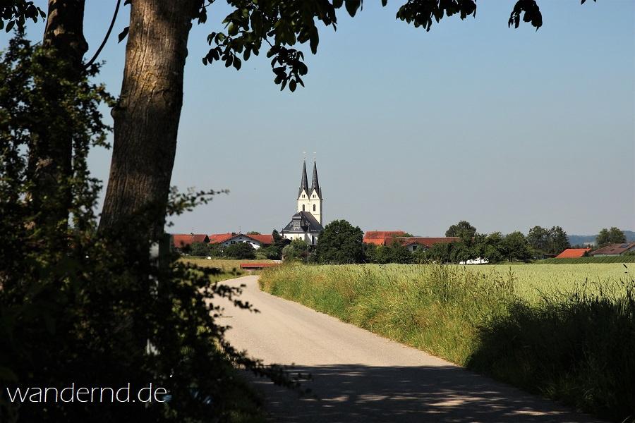 Ausflug bei München: WallfahrtskircheTuntenhausen