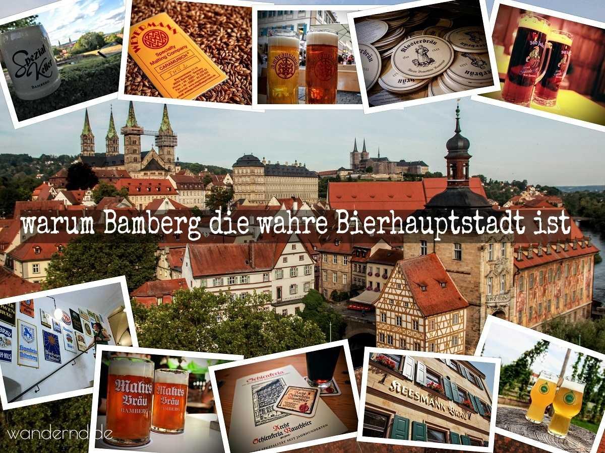warum Bamberg die wahre Bierhauptstadt ist