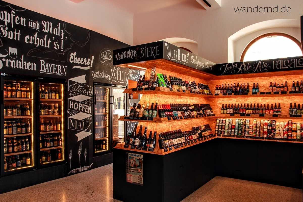 Die Idee der Bierothek in Bamberg: Jeden Bierstil abzubilden