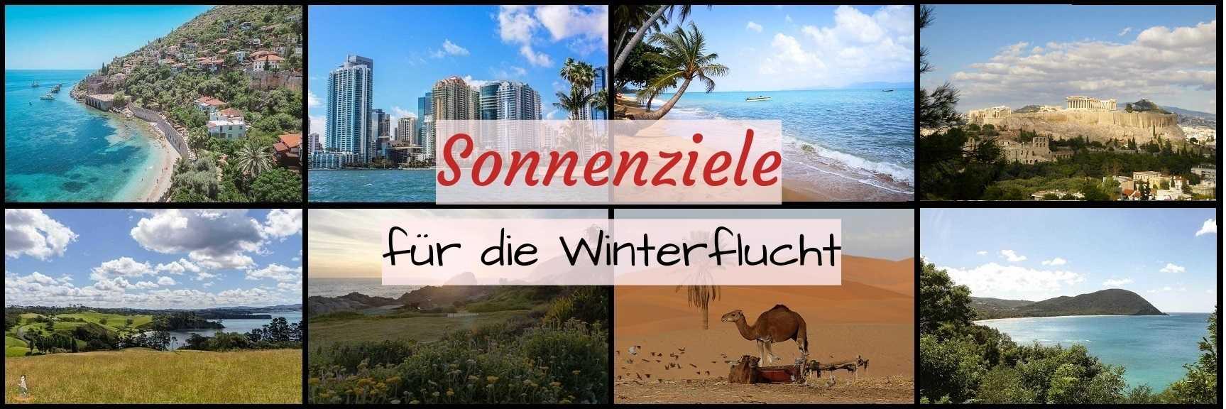 Winter Reiseziele: 26 Sonnenziele für die Winterflucht