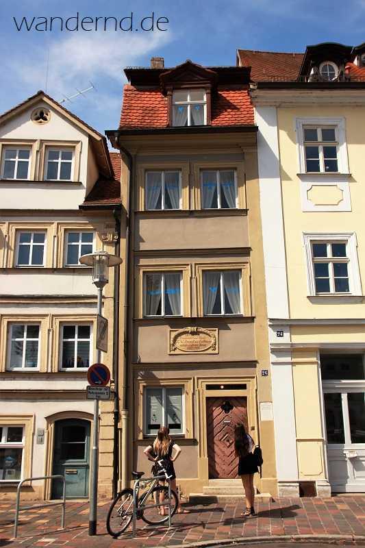 ETA Hoffmann Wohnhaus in Bamberg