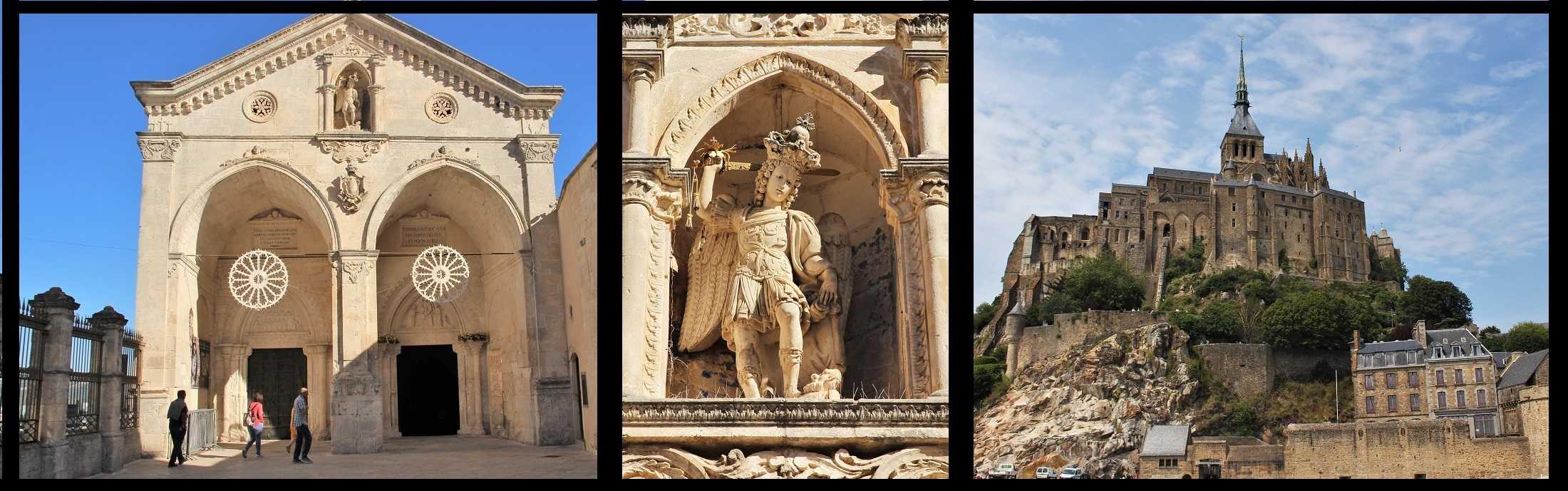Mont St. Michel und Monte Sant' Angelo: Der Kult des Erzengels Michael