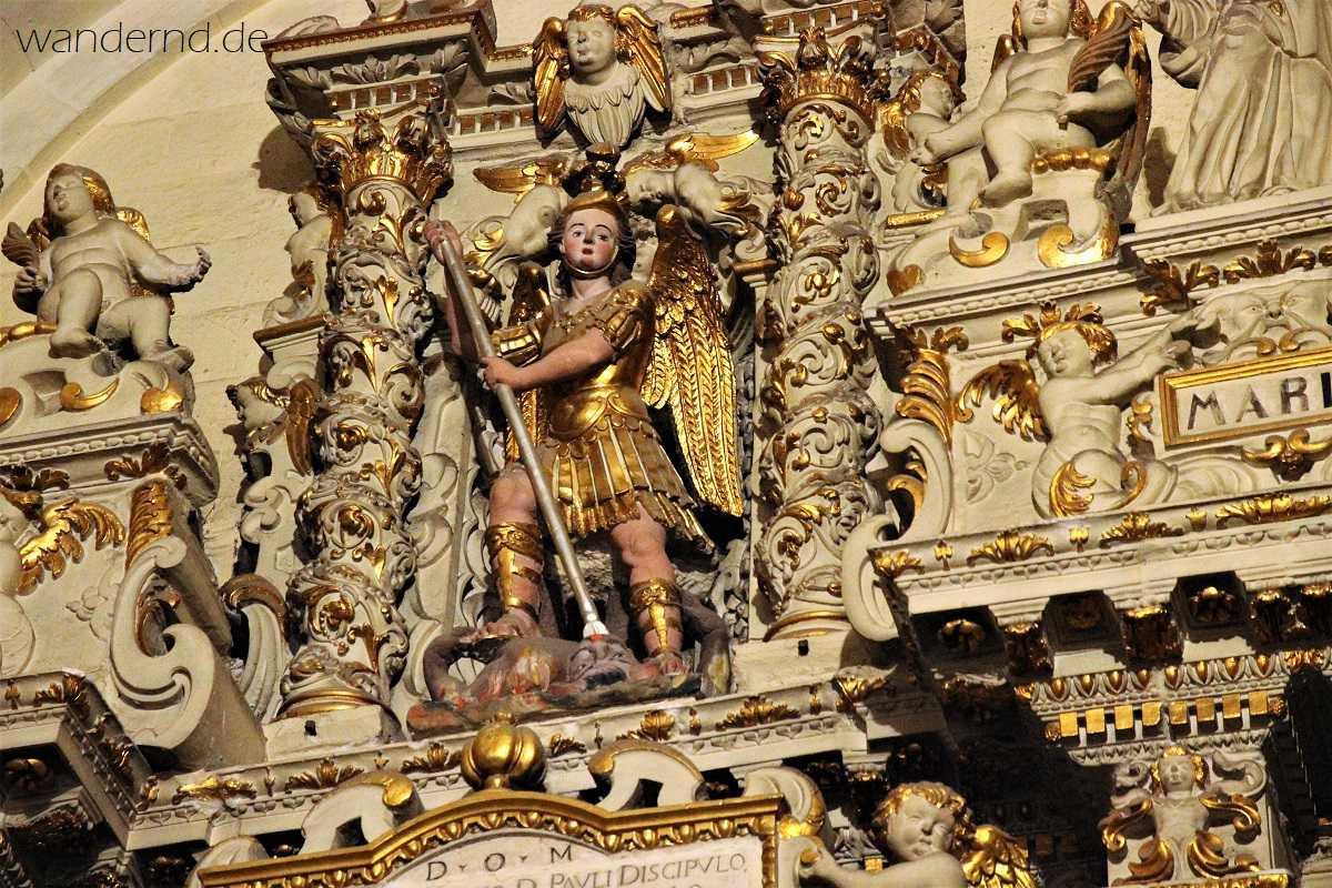 Der Heilige Michael in Lecce