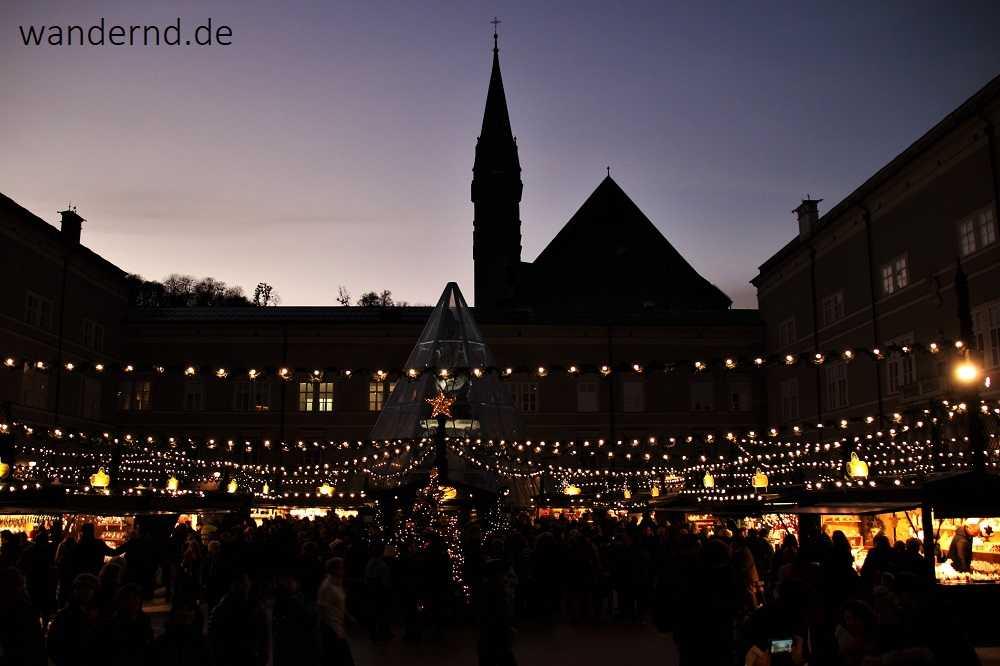 Weihnachtsmarkt in Salzburg