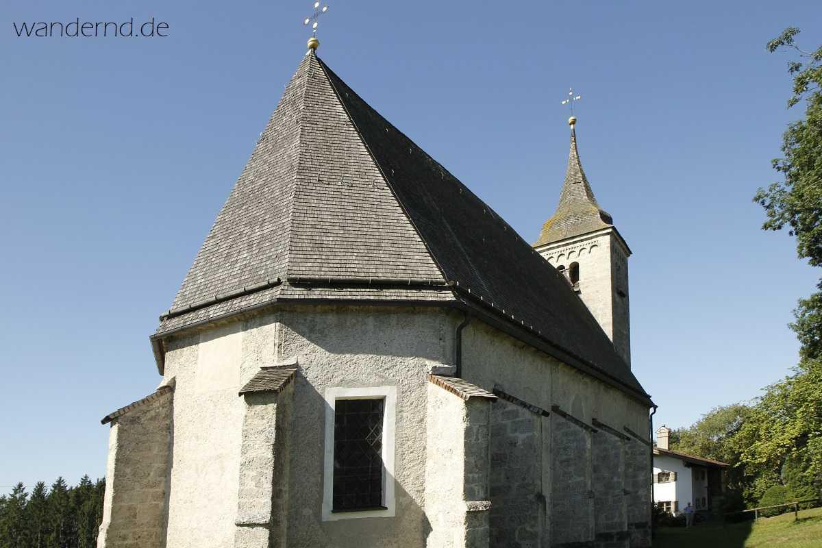 Kraftort in Bayern: Kirche St. Wolfgang