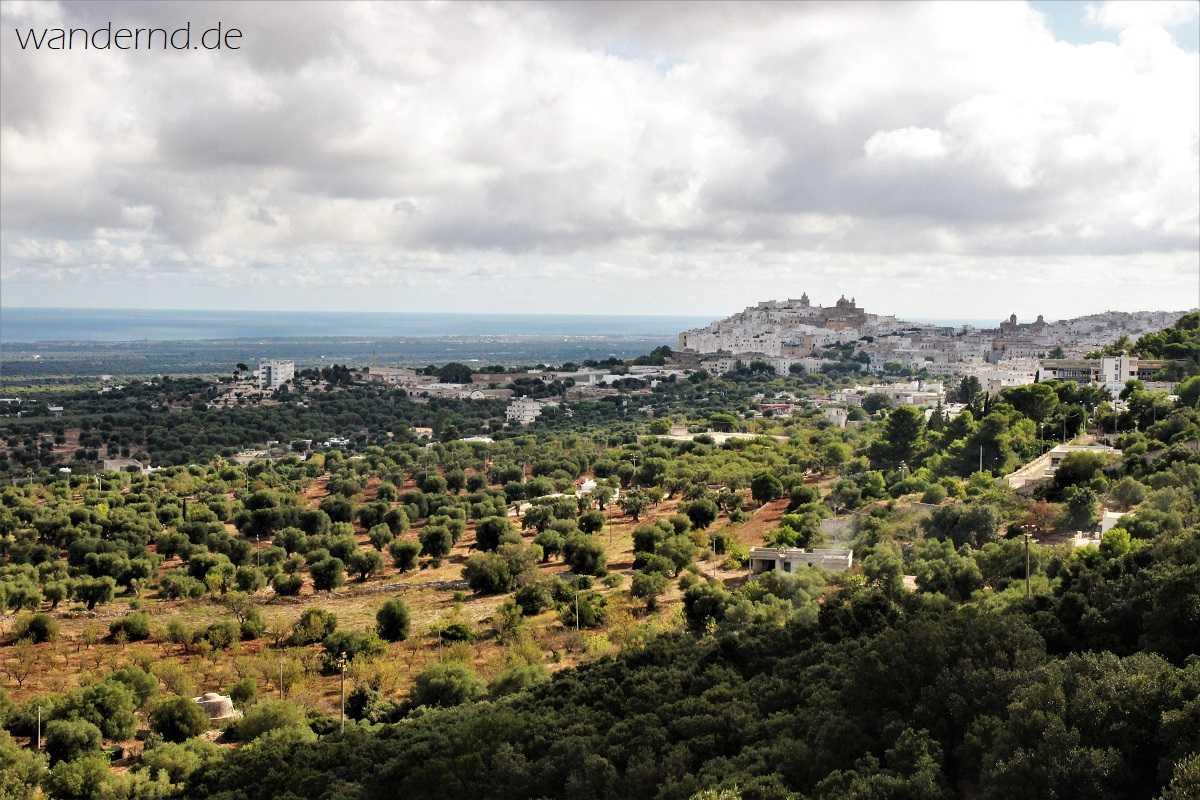 Rundreise durch Apulien: Ostuni, die weiße Stadt