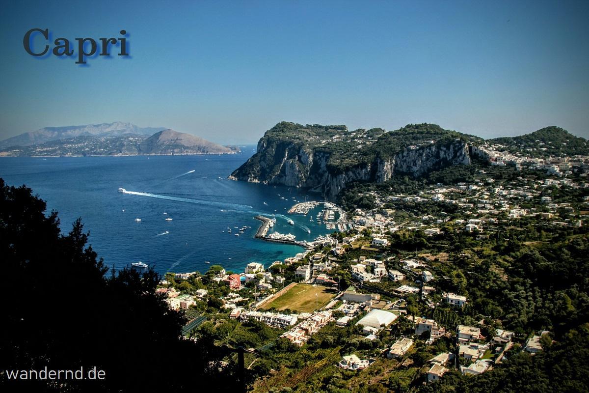 Capri Ausblick von Anacapri