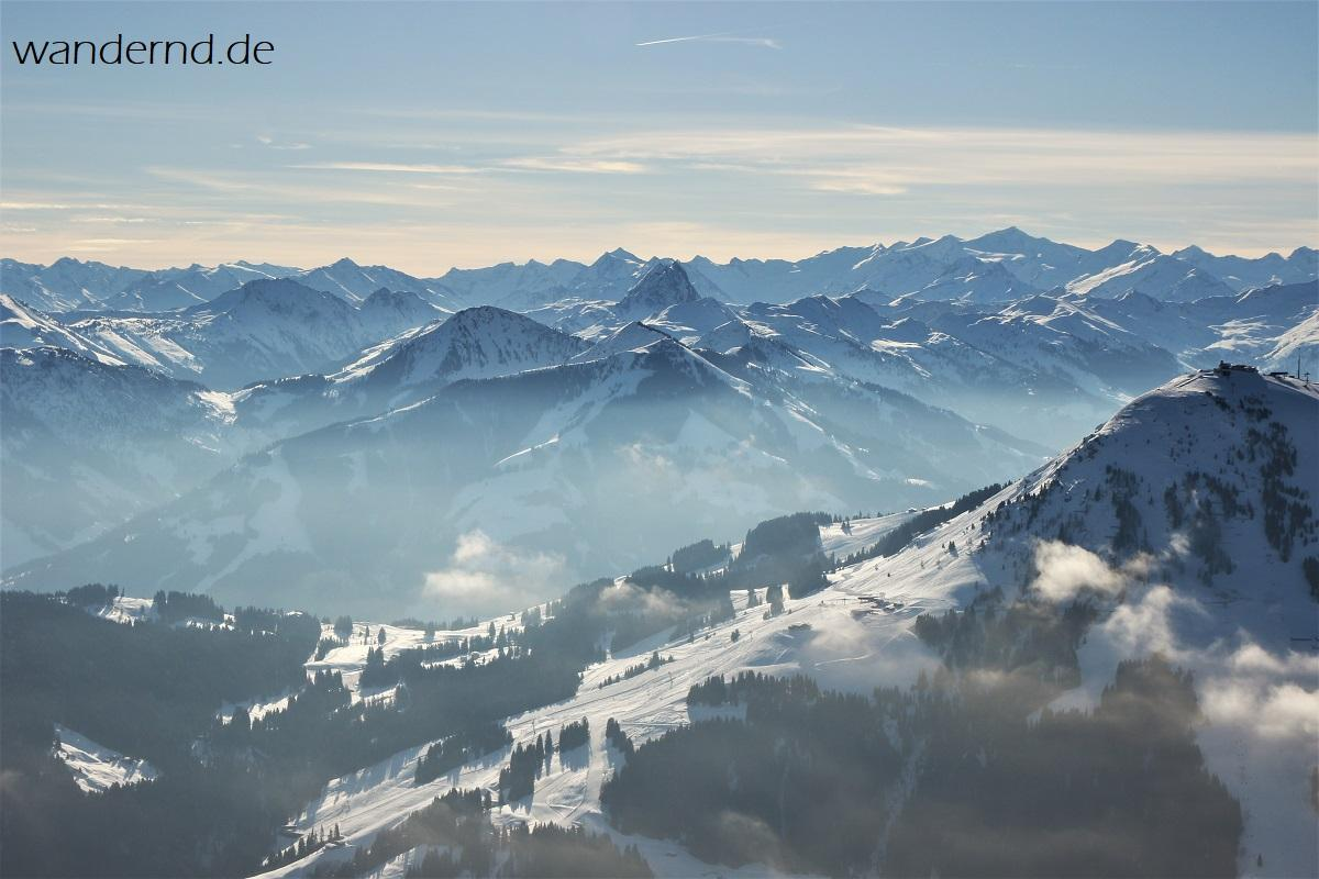 Kaiserwinkel Ballonfahrt Tirol