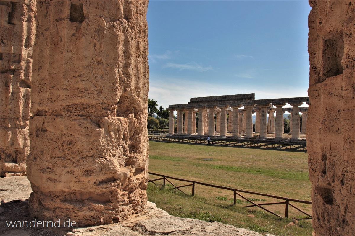 "die sogenannte ""Basilika"" - Der Hera-Tempel in Paestum"