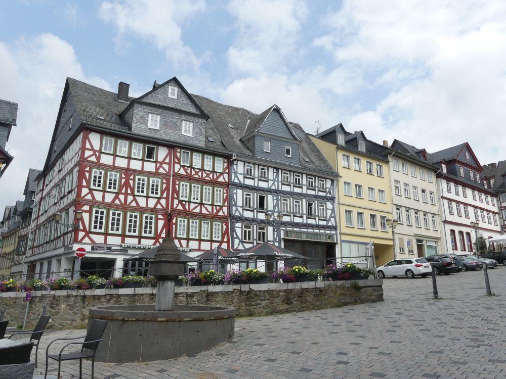 Fachwerkhäuser in Wetzlar. Wer hätte das eher unbekannte Wetzlar auf einer Liste über die schönsten historischen Städte erwartet?