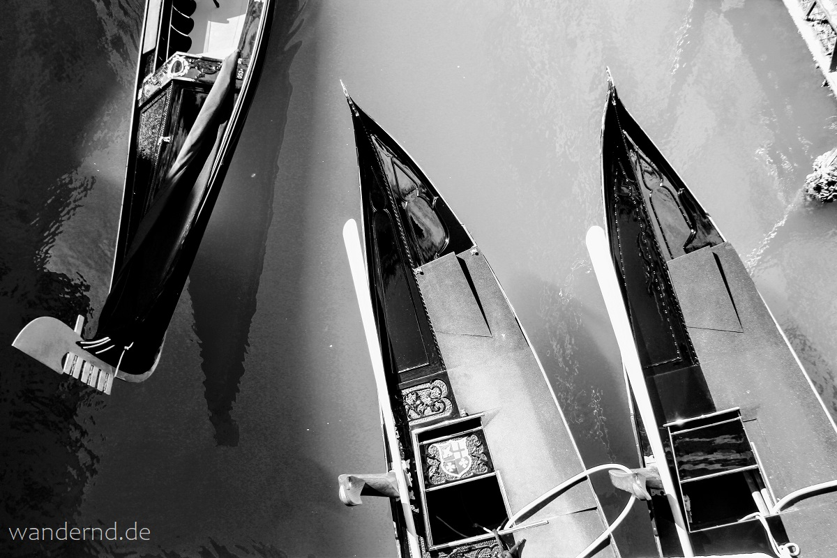 Venedig in schwarz-weiß. Bilder aus der Lagunenstadt