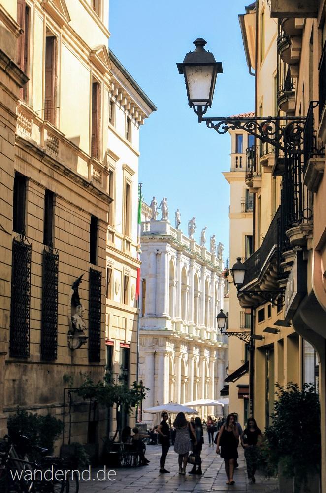 Vicenza Sehenswürdigkeiten: Der von Palladio ummantelte Palazzo della Ragione