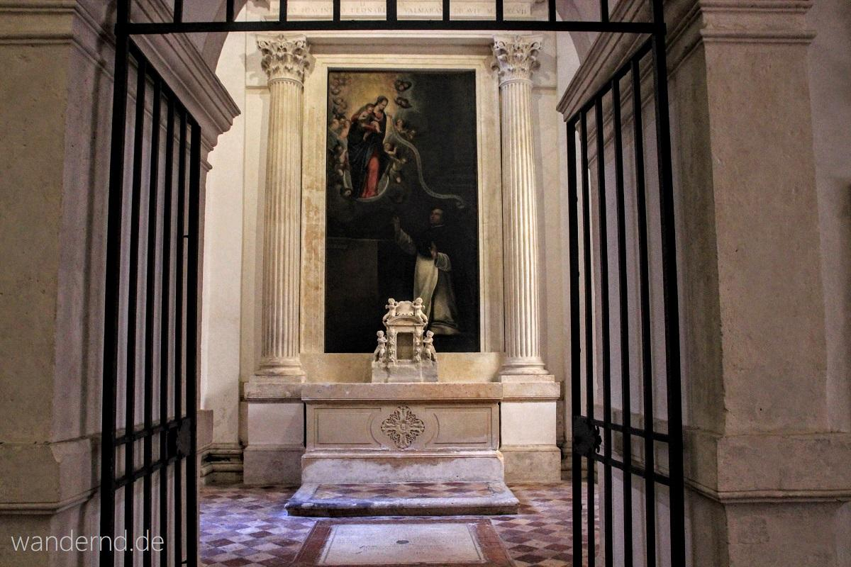 Die Capella Valmarana in der Kirche Santa Corona