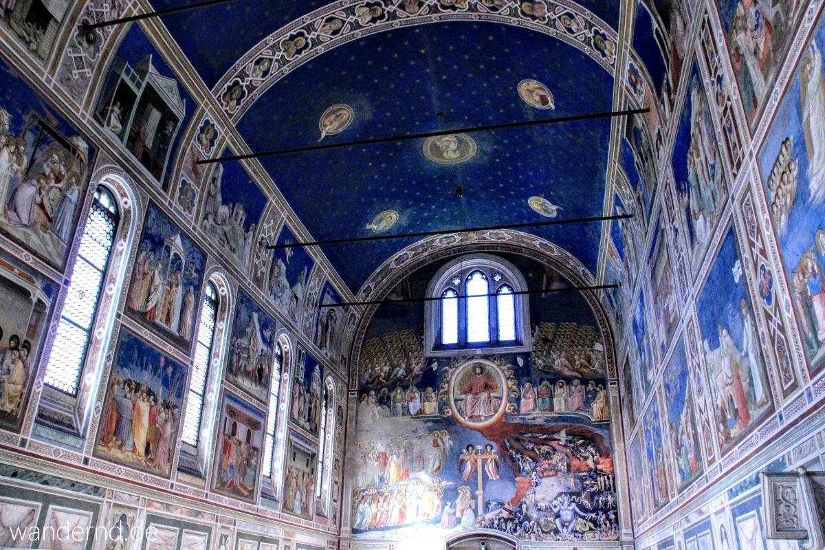 Padua Sehenswürdigkeiten: Scrovegni Kapelle