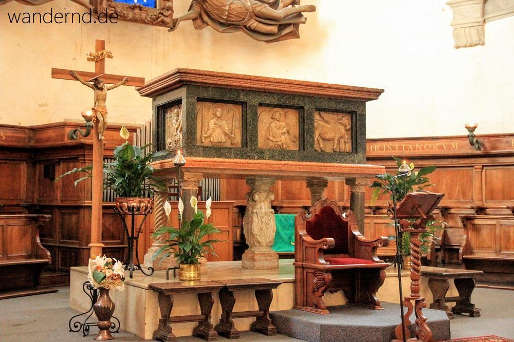 Padua Sehenswürdigkeiten: Grab des Hl. Lukas