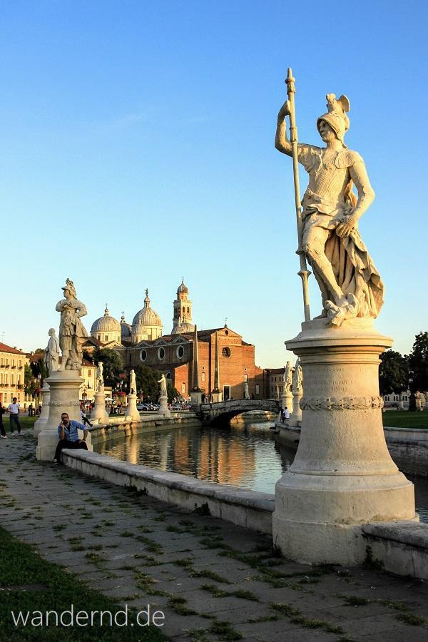 Den Prato della Valle muss man in Padua gesehen haben!