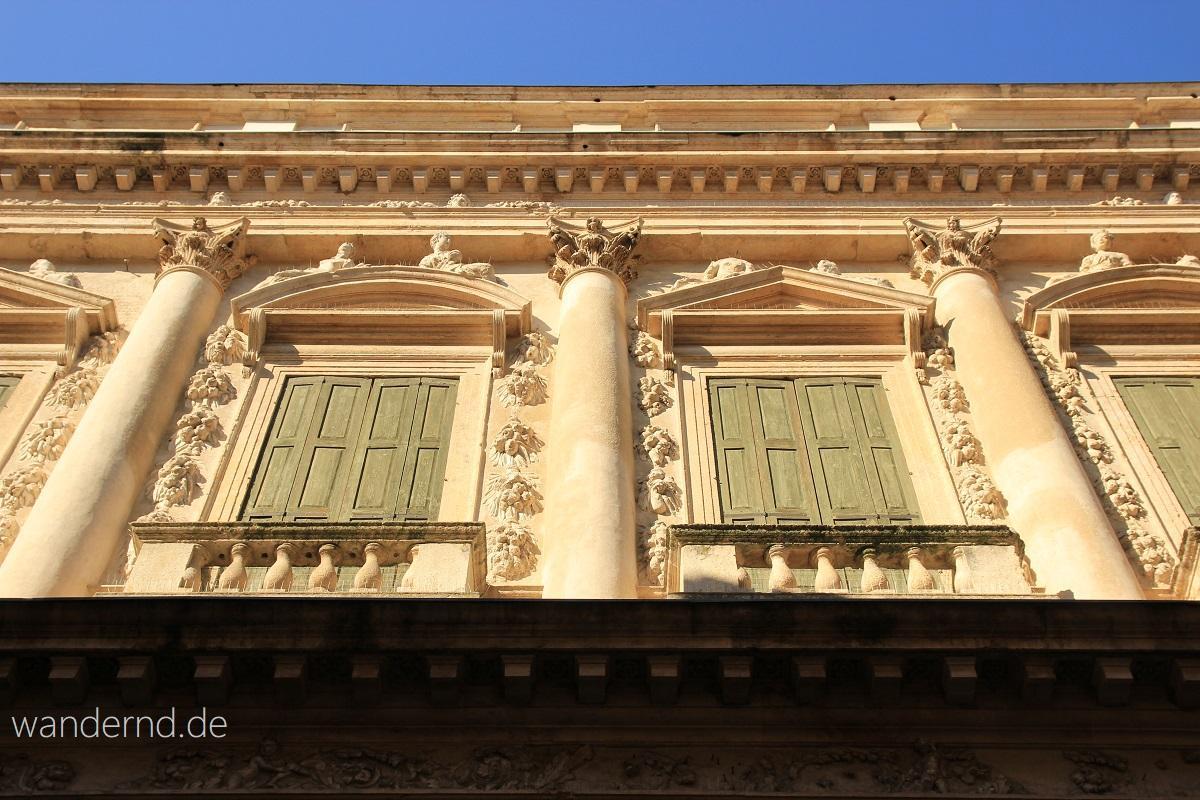 Vicenza Sehenswürdigkeiten Palazzo Barbaran