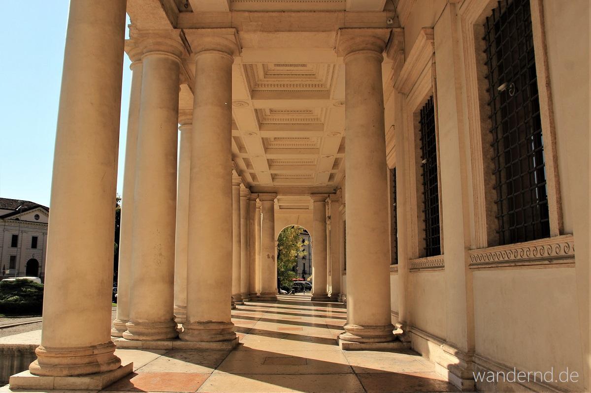 Portico des Palazzo Chiericati in Vicenza