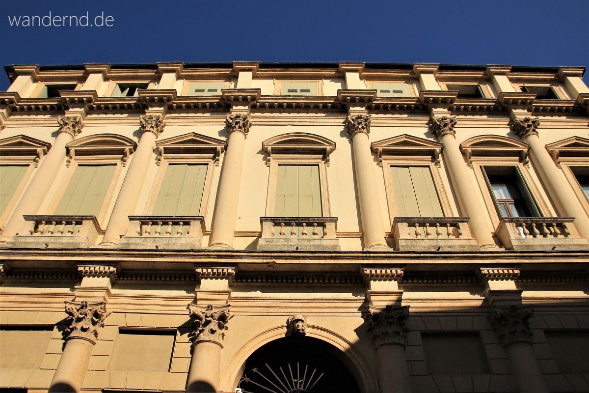 Vicenza Sehenswürdigkeiten Palazzo thiene Bonin Longare