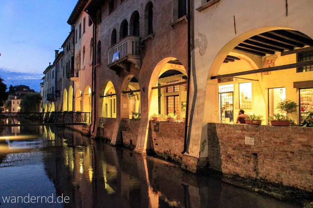 Treviso zur Blauen Stunde