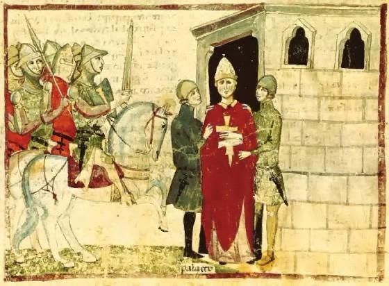 Gefangennahme Bonifaz VIII. in Anagni