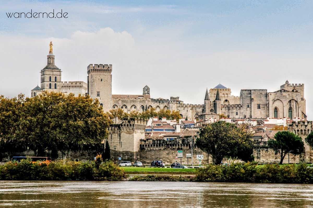 Ansicht von Avignon Sehenswürdigkeiten