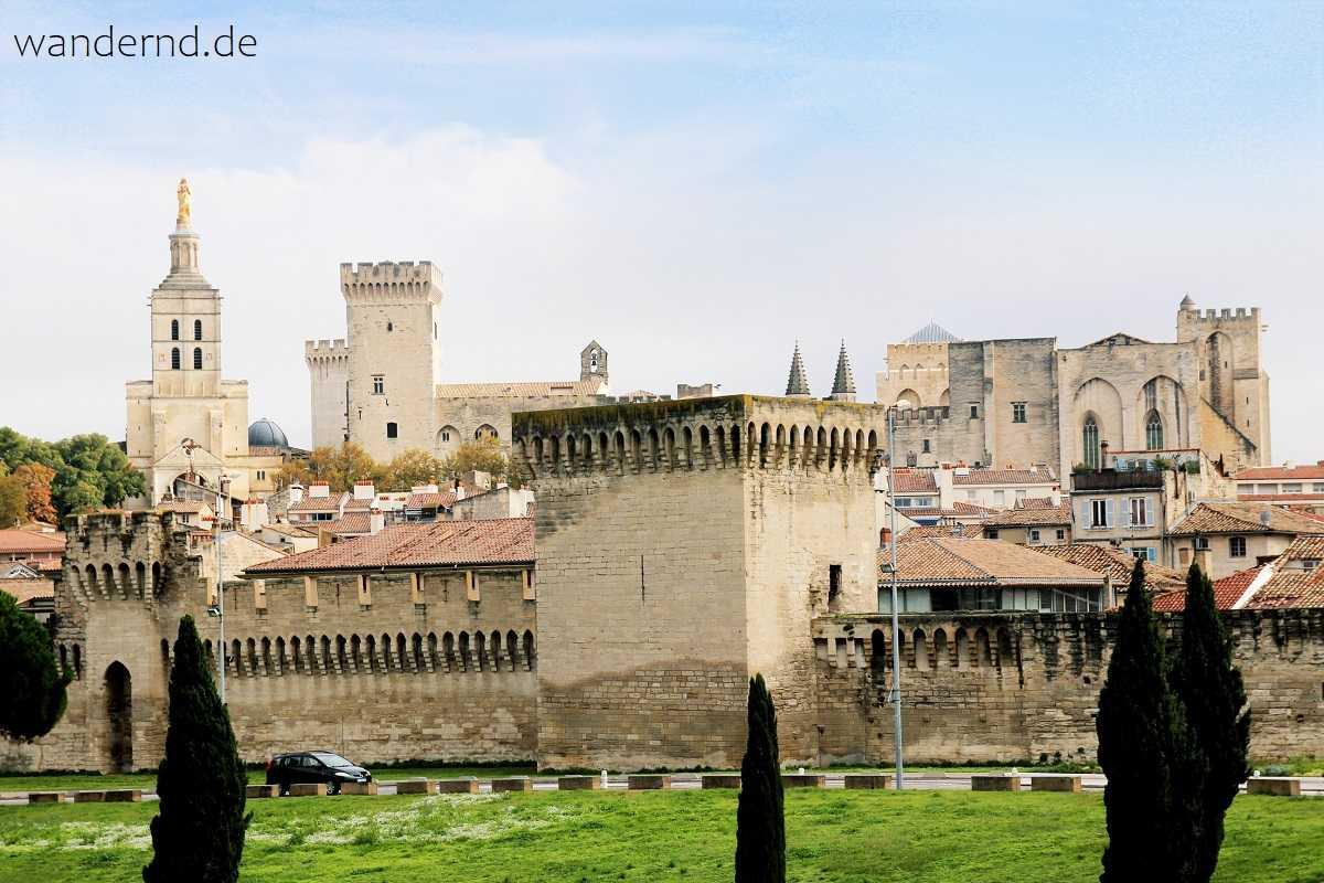 Avignons Stadtmauer