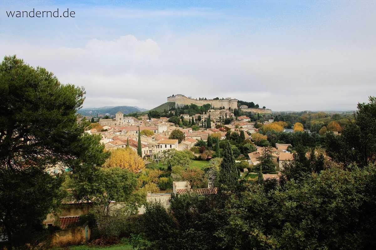 Anblick von Villeneuve-les-Avignon