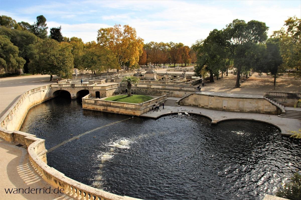Sehenswürdigkeiten in Nîmes: Heilige Quelle und andere antike Reste
