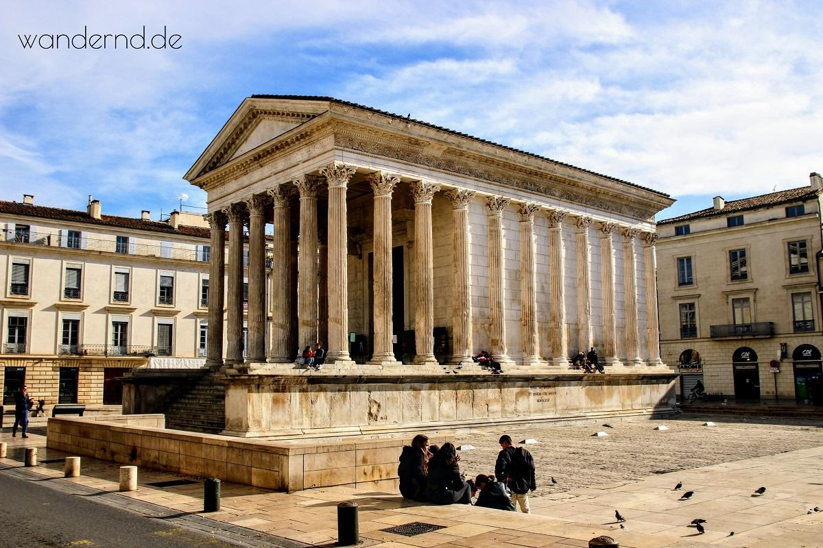 Das Maison Carre in Nîmes