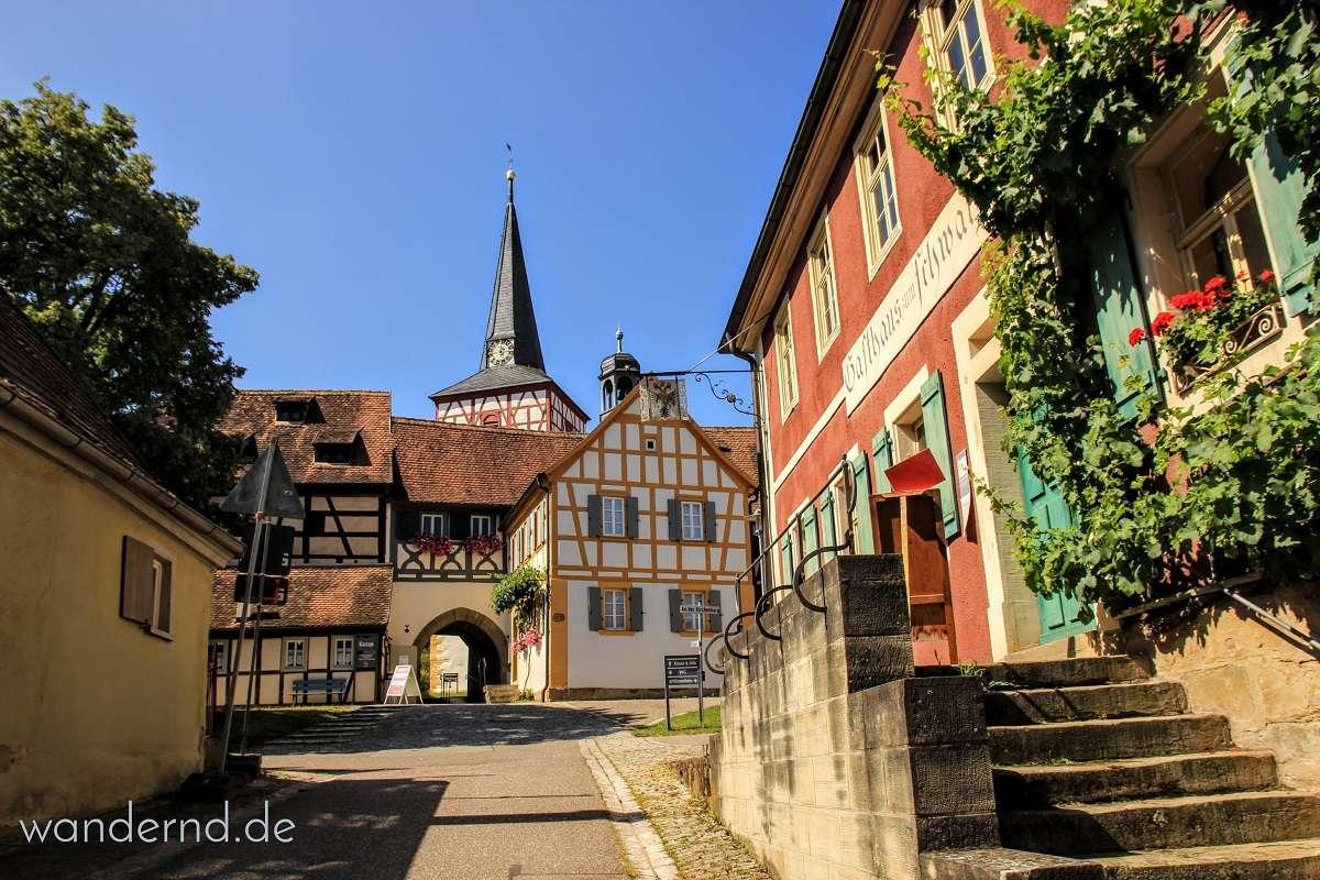 Kirchenburg - Freileichtmuseum Mönchsondheim