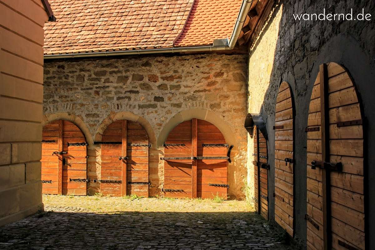Gaden in der Kirchenburg Seinsheim
