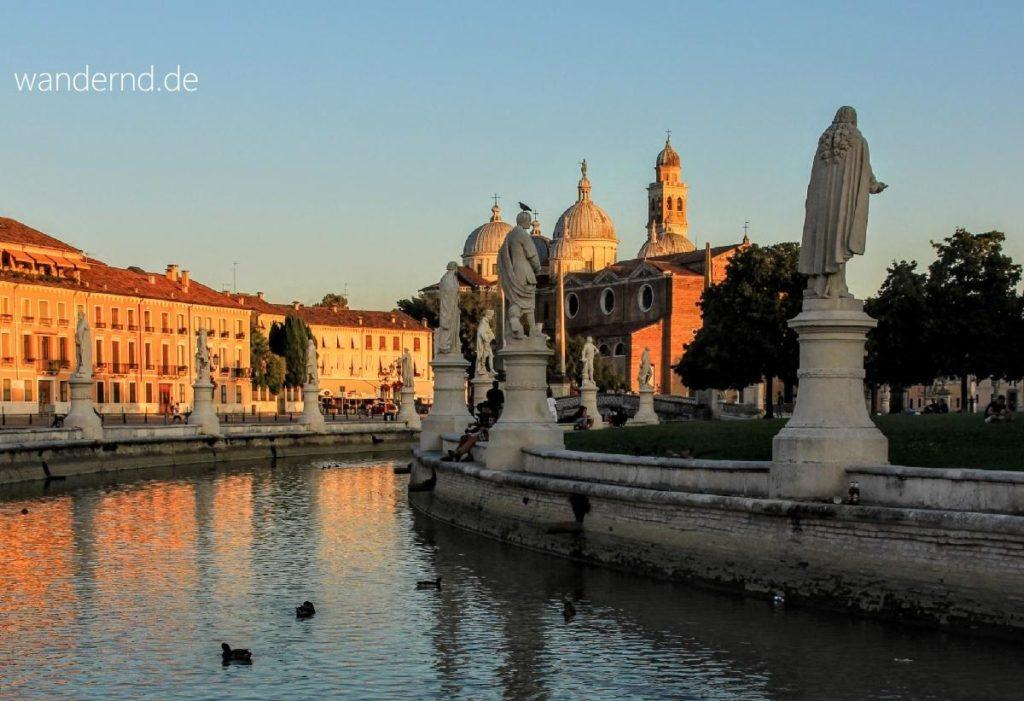 Venetien Rundreise: Padua - Prato della Valle