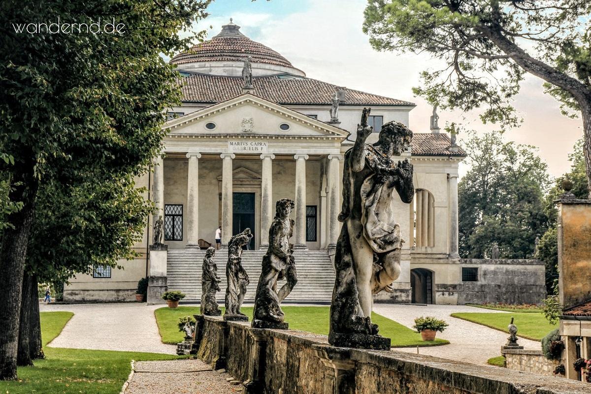 Venetien Norditalien Rundreise: La Rotonda bei Vicenza Sehenswürdigkeiten